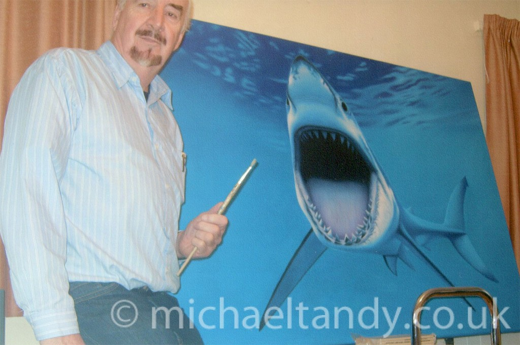 Great White – Oil on Canvas (Private Commission)