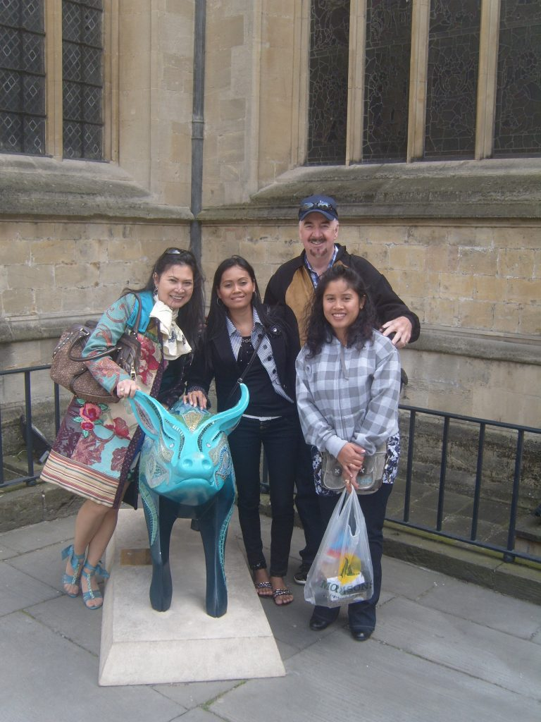 Visiting the UK with Joy & Friends