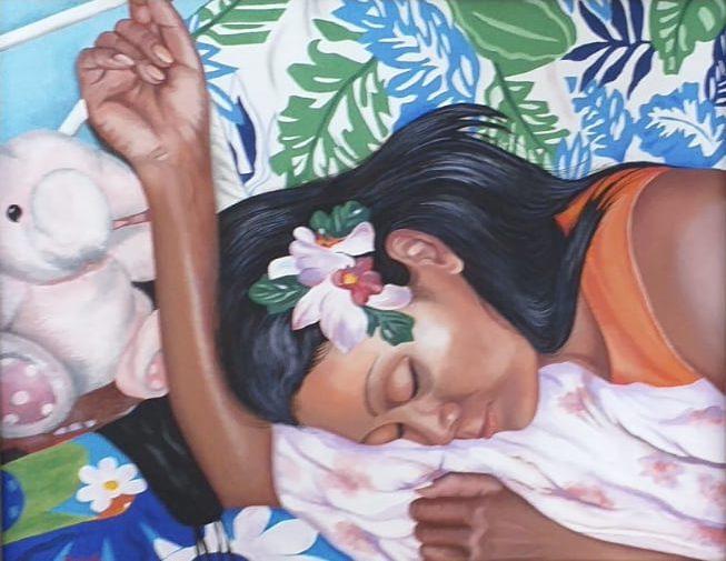 Portrait of Artist Wife Jatupit
